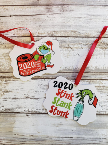 Grinch Ornaments
