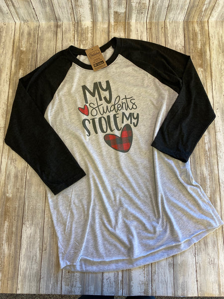 My Students Stole My Heart Raglan