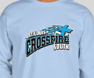 Youth- Crossfire South Gildan Ultra Cotton Long Sleeve