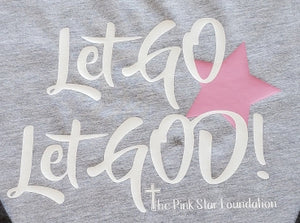 Pink Star Foundation Youth Baseball Shirt