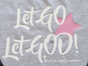 Pink Star Foundation Toddler Baseball Shirt