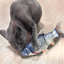 Load image into Gallery viewer, Electric Moving Fish Cat Toy