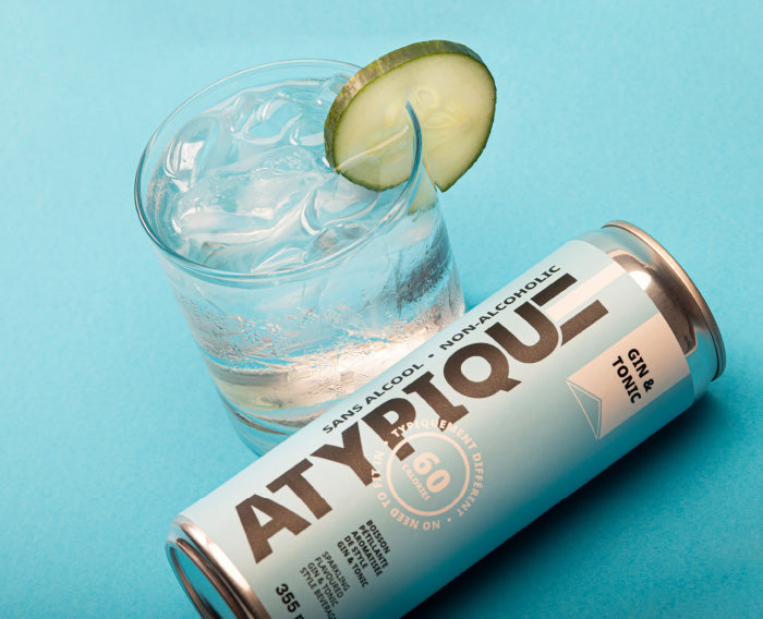 Atypique | Gin & Tonic sans alcool - 355 ml