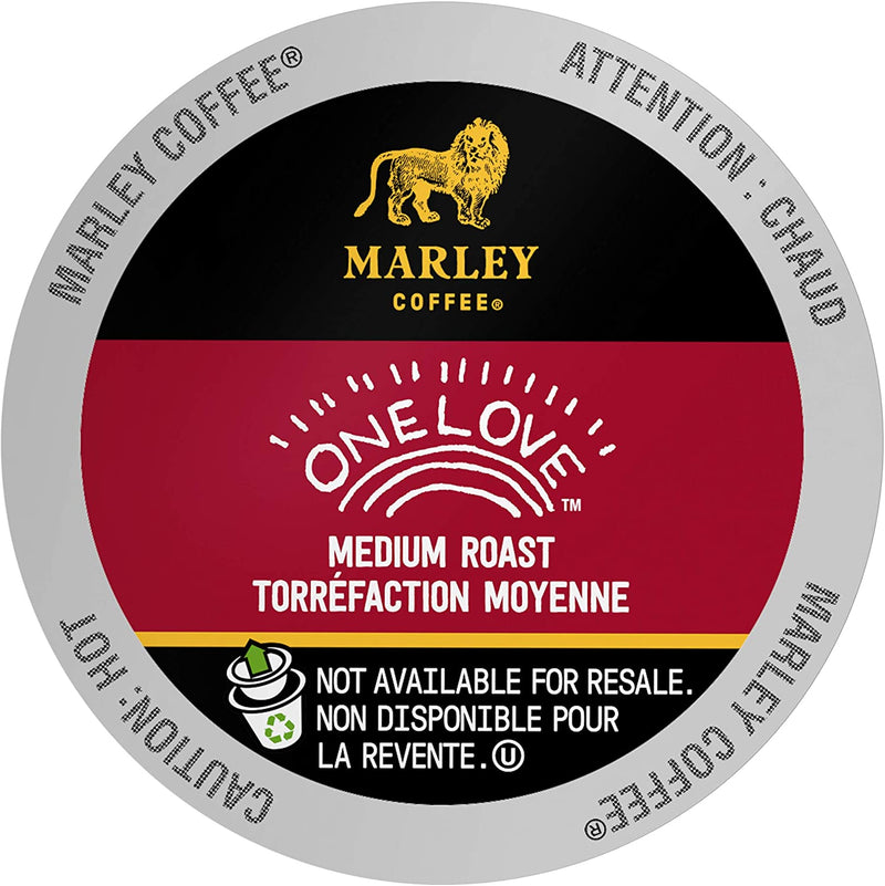 Marley Coffee | One Love Capsules Café Keurig K-Cup