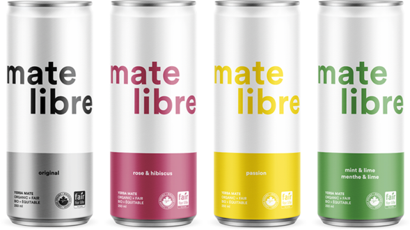 Mate Libre | Mint & Lime - canne