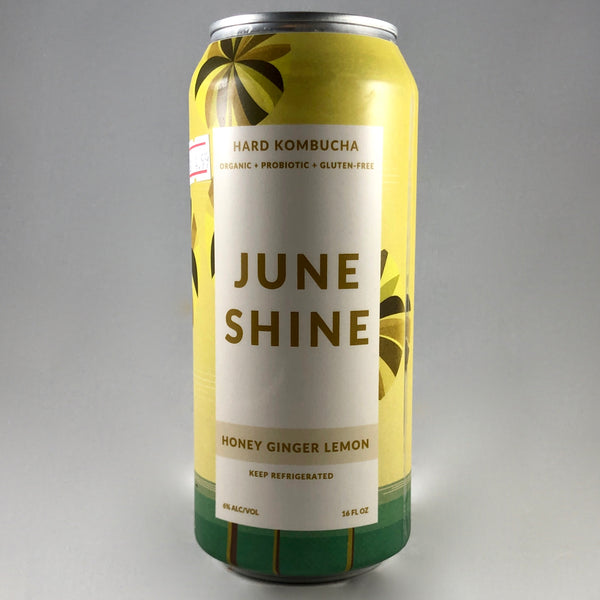 Juneshine Honey Ginger Lemon Hard Kombucha