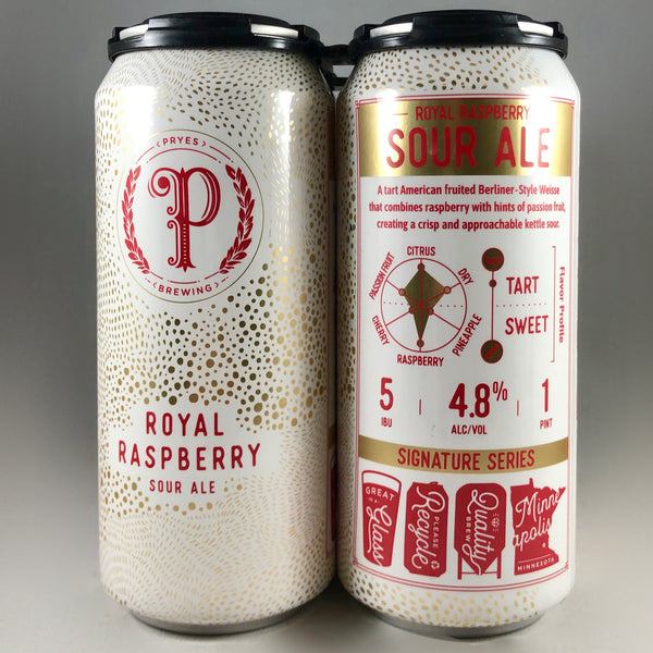 Pryes Royal Raspberry Sour Ale