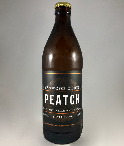 Greenwood Cider Co. Peatch