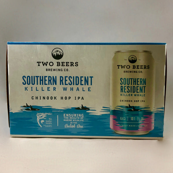 Two Beers Southern Resident IPA 6pk