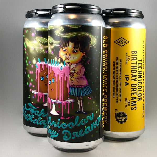 Old Schoolhouse Technicolor IPA 4pack