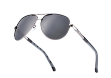 Load image into Gallery viewer, Gun-Metal Grey Mens Sunglasses