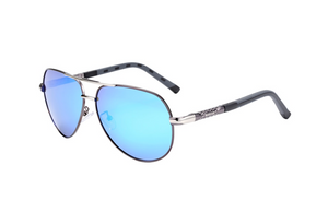 Gun-Metal Grey Mens Sunglasses