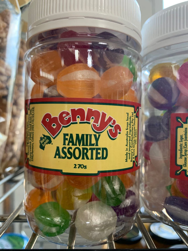 BENNYS FAMILY ASSORTED 270G