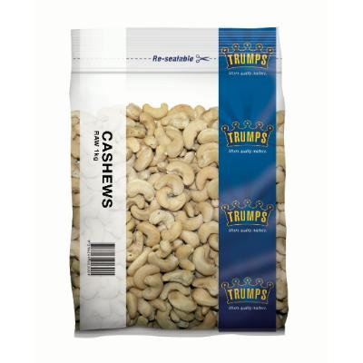 Trump Cashews Raw 1kg/pk BB:04.12.2020.
