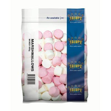 Trump Marshmallows Mixed 500g/pk