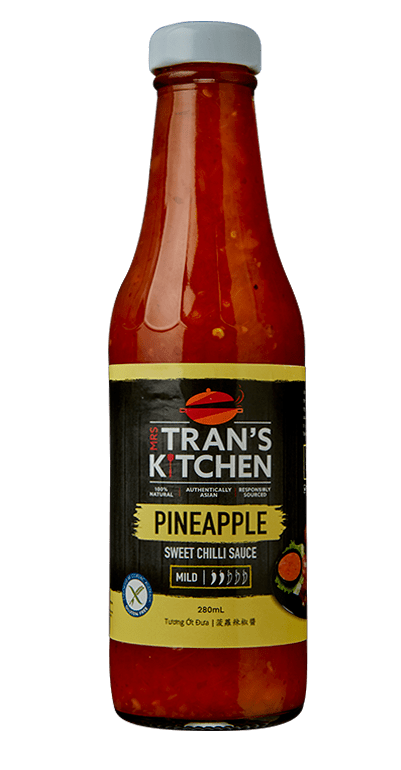 Mrs Trans Pineapple Chilli Sauce Gluten Free 280ml/unit