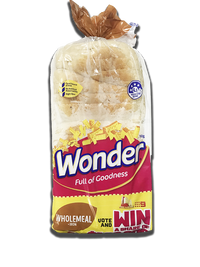 Bread Wonder White Wholemeal 700g