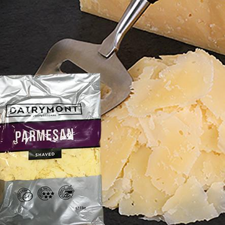 Parmesan Shaved Cheese 1kg/pk