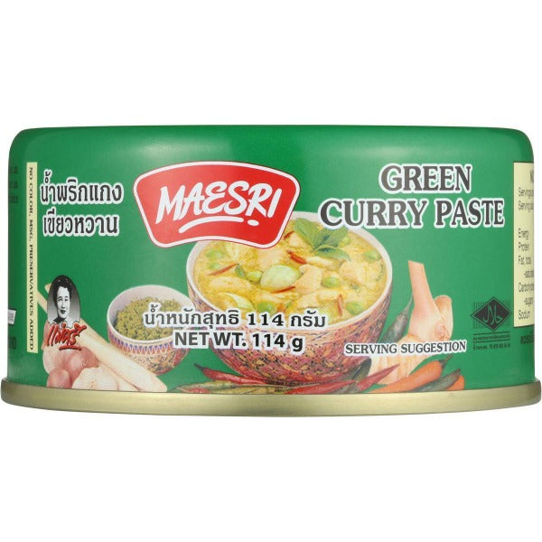 Green Curry Paste 114g/pk