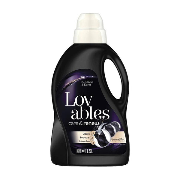 Lovable Care&Renew for Black&Darks 1.5L