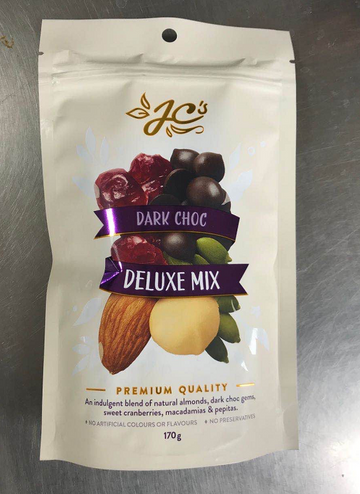 JCS DARK CHOC - DELUXE MIX 170G