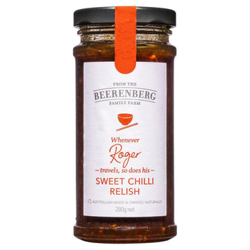 BEERENBERG SWEET CHILLI RELISH 280G