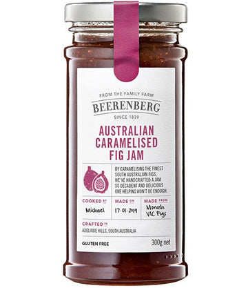 BEERENBERG AUSTRALIAN GARAMELISED FIG JAM 300G