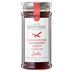 BEERENBERG CRANBERRY SAUCE 240ML