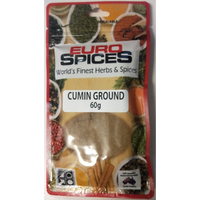 EURO SPICES CUMIN GROUND 60G