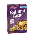 KELLOGGS SULTANA BRAN HIGH FIBRE BREAKFAST CEREAL 420G