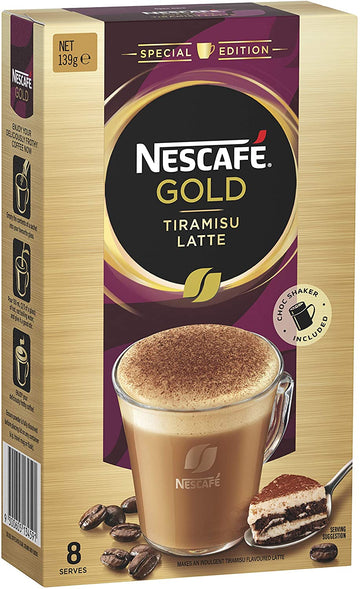 Nescafe Gold Tiramisu Latte Coffee Sachets