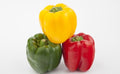 Veg - Mixed Capsicums Green Yellow and Red  1pcX3 /bag
