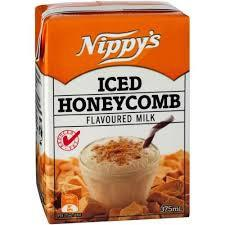 NIPPYS ICED HONEYCOMB MILK 375ML