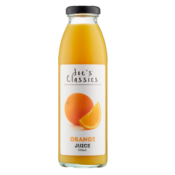 JOES CLASSICS ORANGE JUICE 350ML