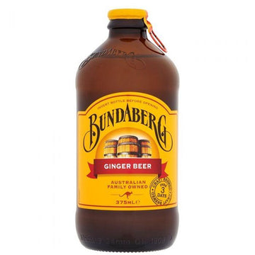 BUNDABERG GINGER BEER SPARKING DRINK 375ML