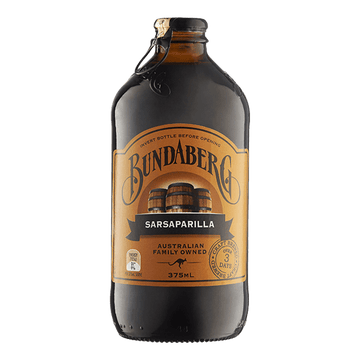 BUNDABERG SARSAPARILLA SPARKING DRINK 375ML