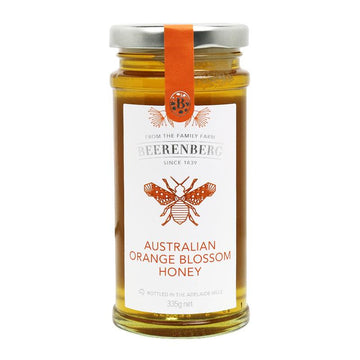 AUSTRALIAN ORANGE BLOSSOM HONEY 335G BBERG