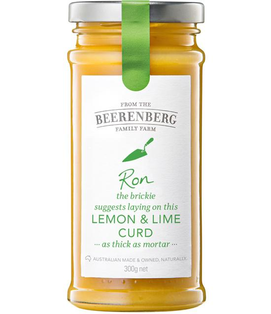 LEMON LIME CURD 300G BBERG