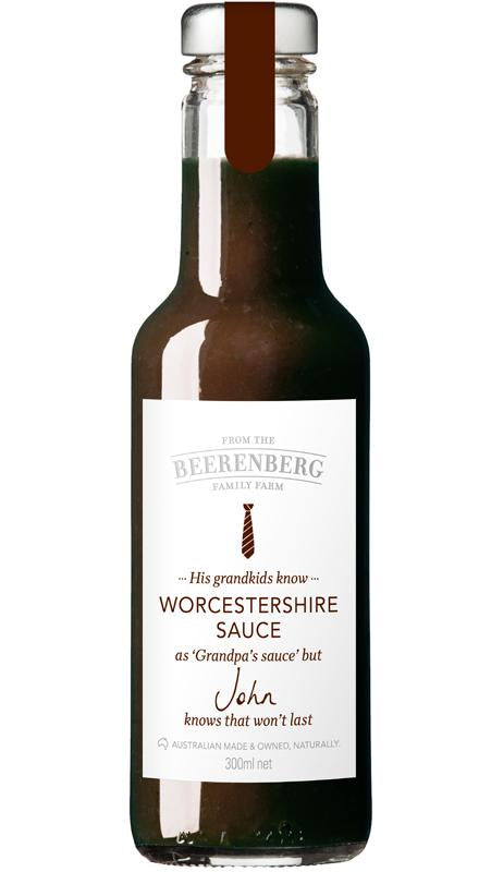 WORCESTERSHIRE SAUCE 300ML BBERG