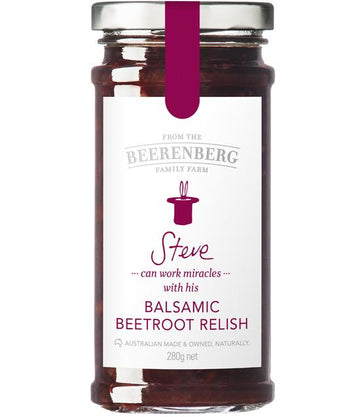 BALSAMIC BEETROOT RELISH 280G BBERG