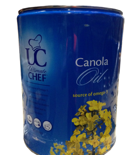 CANOLA OIL 20LTR DRUM ULTIMATE CHEF (NO TAP)