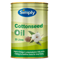 COTTON SEED OIL 20LTR DRUM SIMPLY (NO TAP)