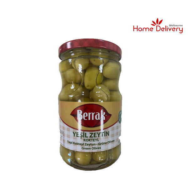 Berrak Green Olives (drained weight 380G)