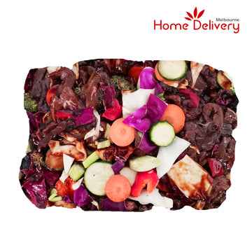 BEEF HONEY SOY STIR FRY 1KG/PK