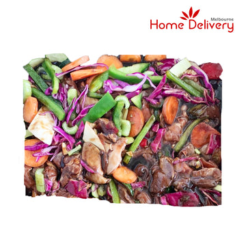 CHICKEN HONEY SOY STIR FRY 1KG/PK