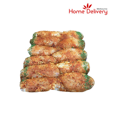 SKINLESS PERI PERI CHICKEN FILLET 1KG
