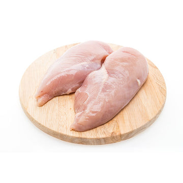 Chicken Half Breast Fillet Skin Off 1kg/pk RSPCA