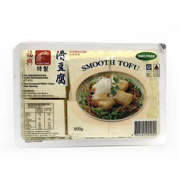 Fortune Smooth Tofu 800g/pk