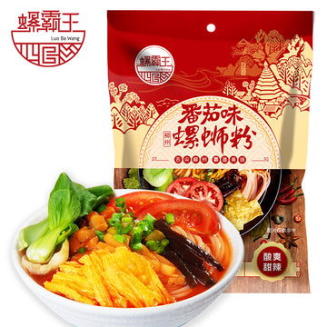 Tomato Flavored Luo Si Rice Noodle (Luo Shi Fen) 306g/pk