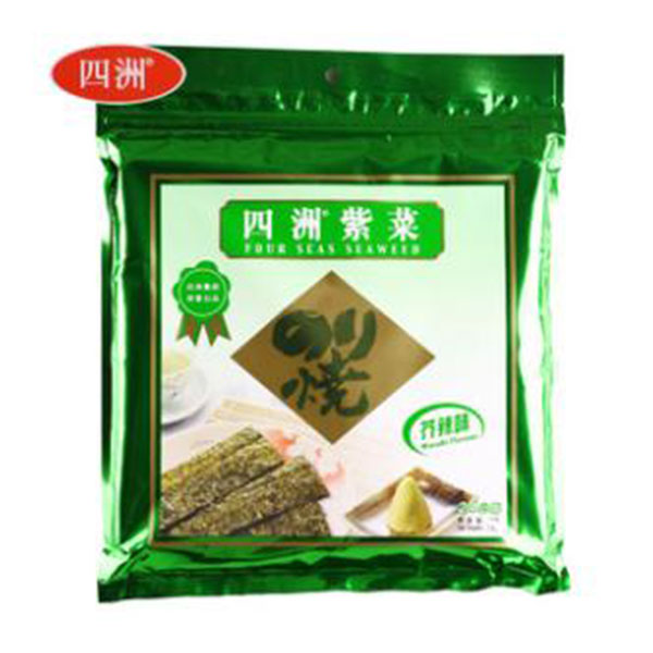 Seasoned Seaweed Wasabi 100pc/pk